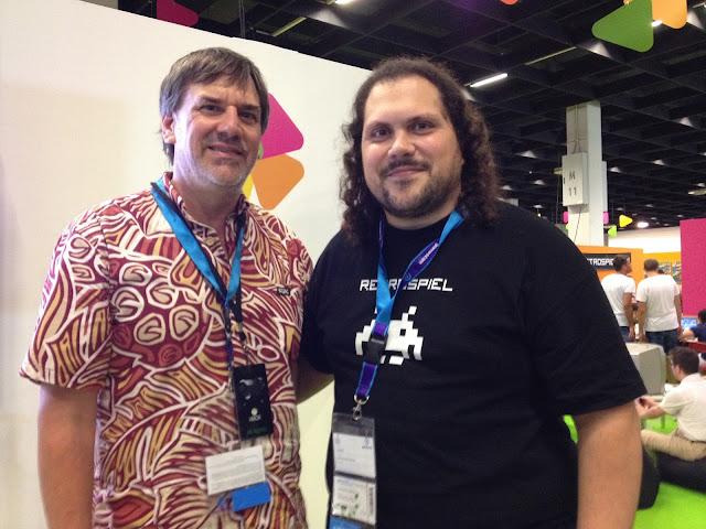 Tercer día de retro y homebrew español en la GamesCom