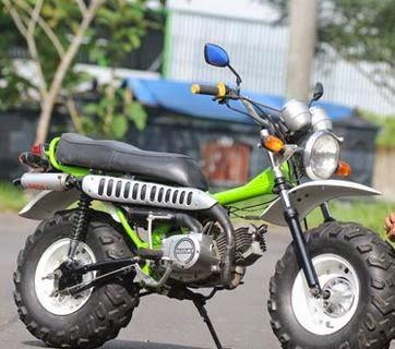 Gambar Modifikasi Motor Suzuki A100 Terbaru