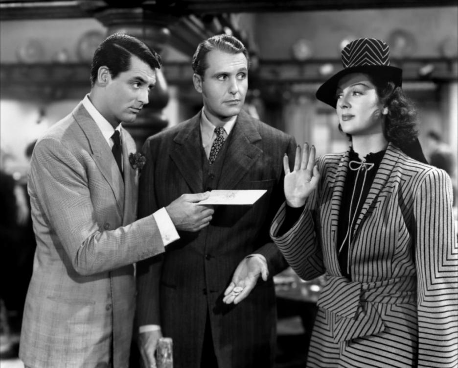 Risultati immagini per la signora del venerdì film 1940