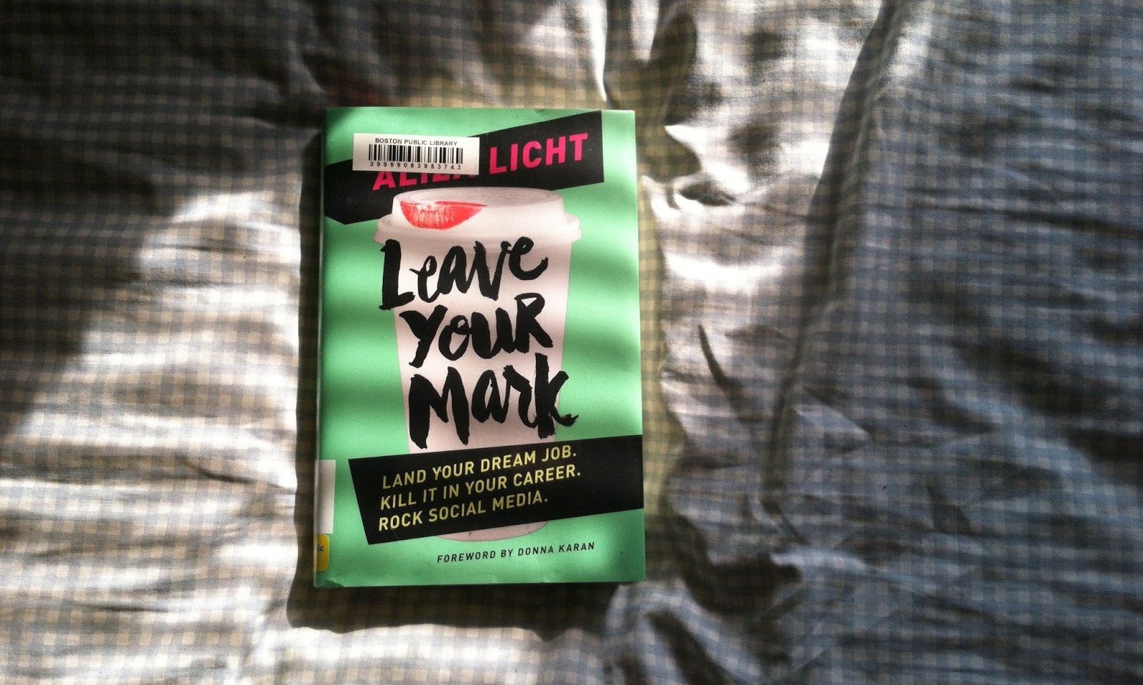 leave your mark, aliza licht, book review, business book