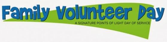 Family Volunteer Day  logo