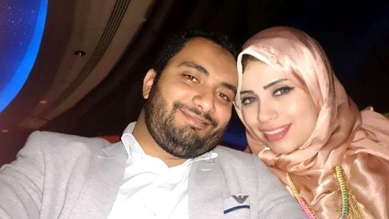 أرملة أحمد الجبلي متهمة بالنصب والفرار ب 15 مليون جنيه  مع زوجها الجديد !!