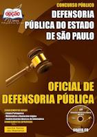 Apostila Defensoria Pública SP 2015 carreira de Oficial de Defensoria Pública.