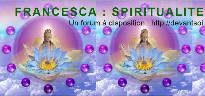 CHEMIN SPIRITUEL DE FRANCESCA