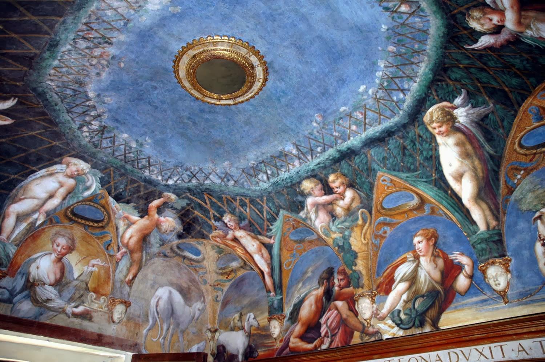 Hortibus fresques du chateau sanvitale de fontanellato parmigiano 1524 - Il bagno di diana klossowski ...