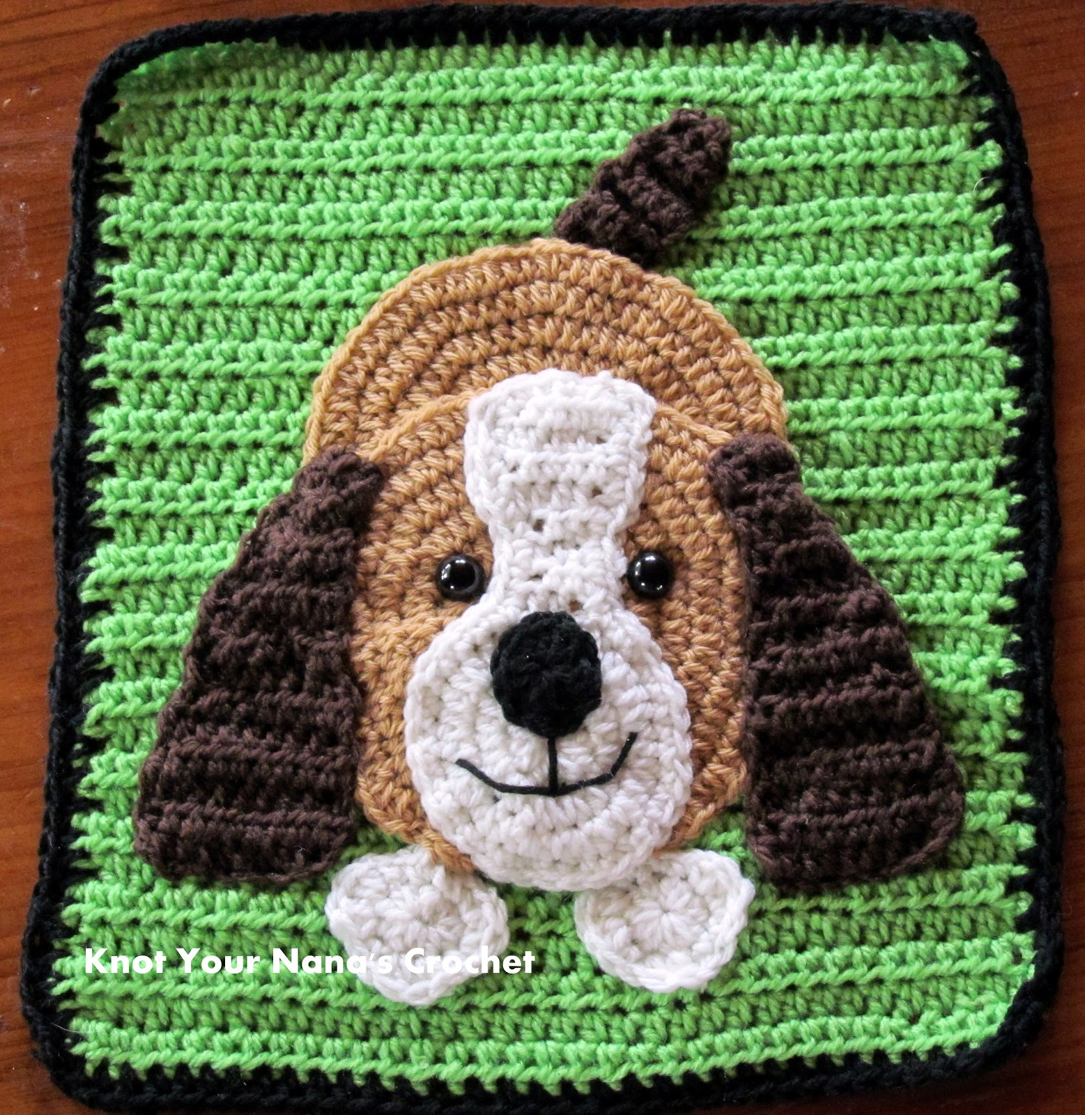 Crochet Pattern For Dog Blanket : Knot Your Nanas Crochet: Farm Blanket