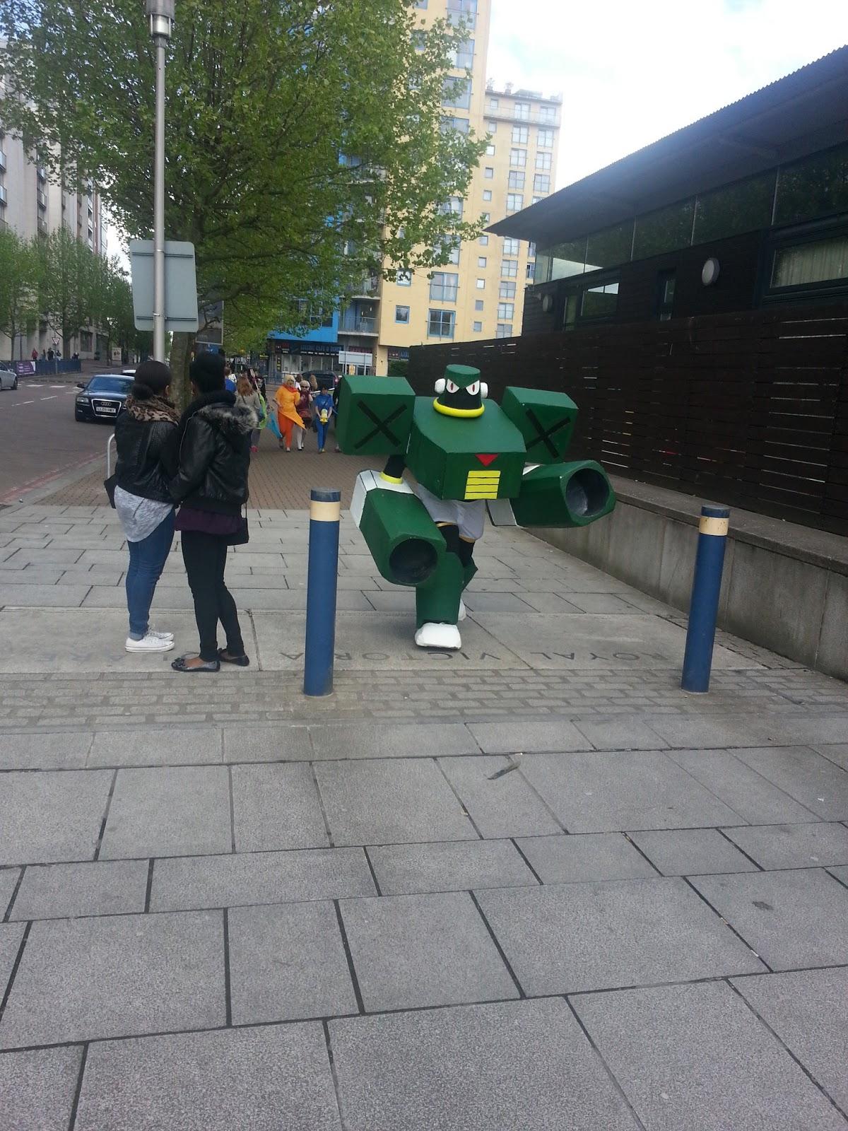 Cosplayers ComicCon2013 UK