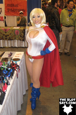 Wizard World New Orleans Comic-Con 2012 - Power Girl