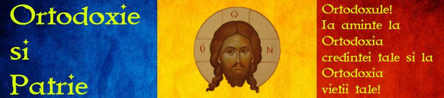 Ortodoxie si Patrie