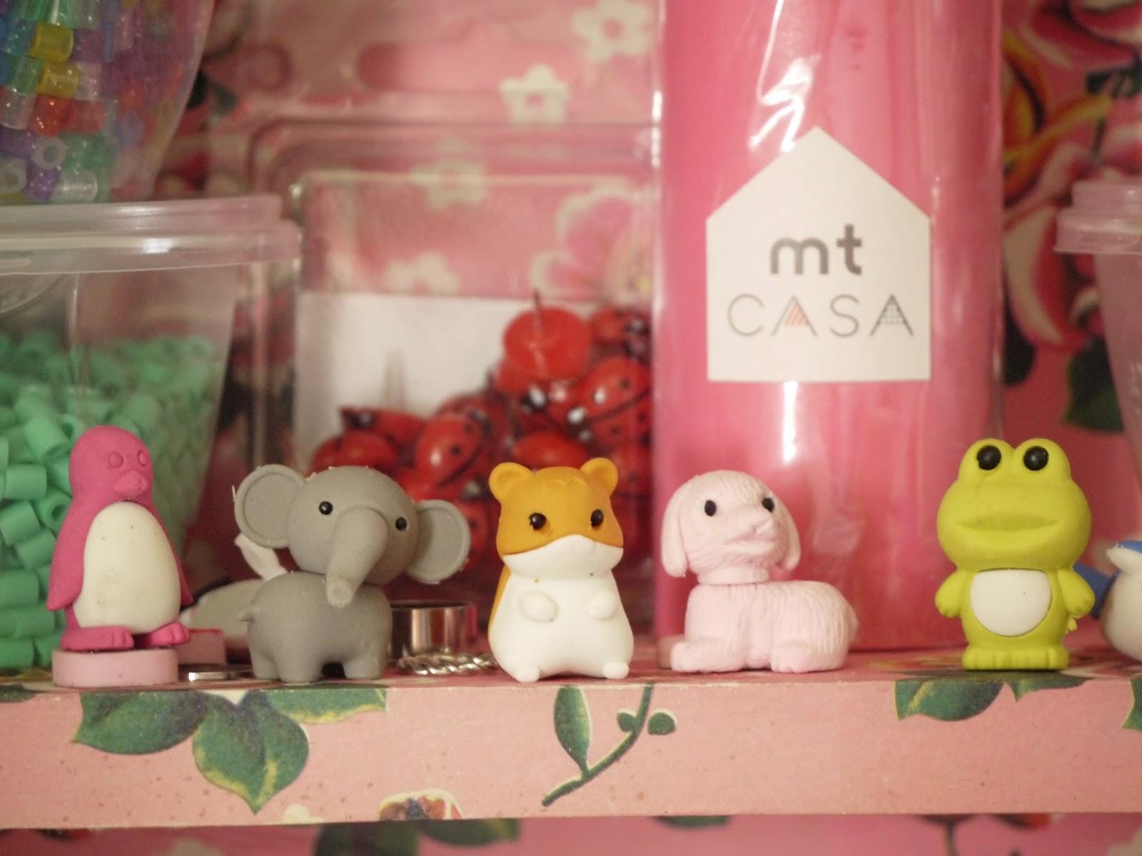 gommes décoratives de collection HAMTARO
