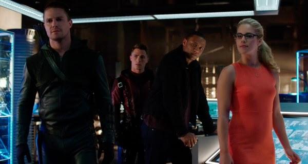 Arrow 3x01 - The Calm: Crítica de un excelente arranque de temporada