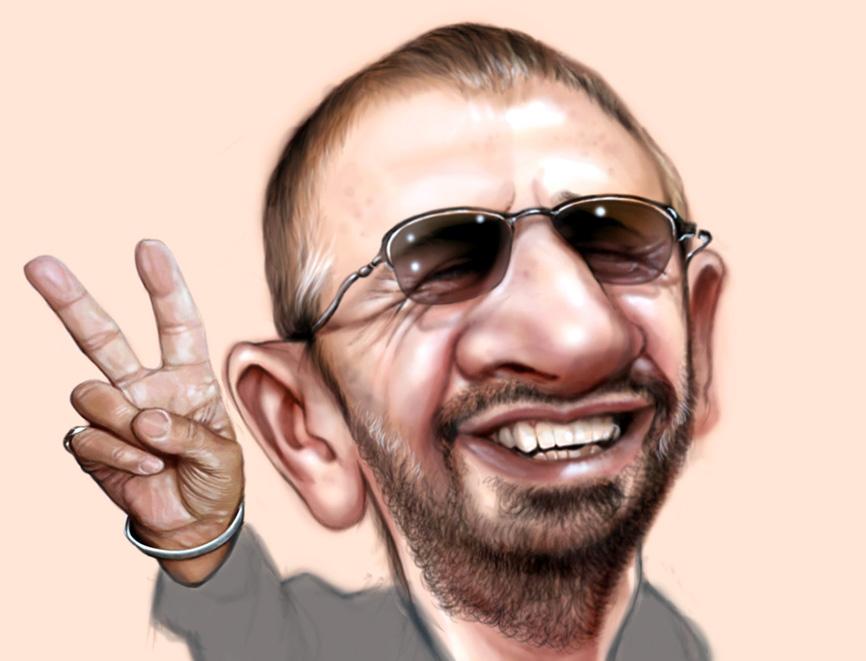Resultado de imagen para Ringo Starr en caricatura