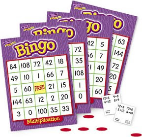 Multiplication Bingo Game Screenshot