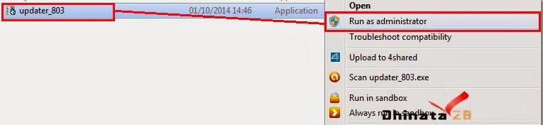 Cara update aplikasi dapodikmen