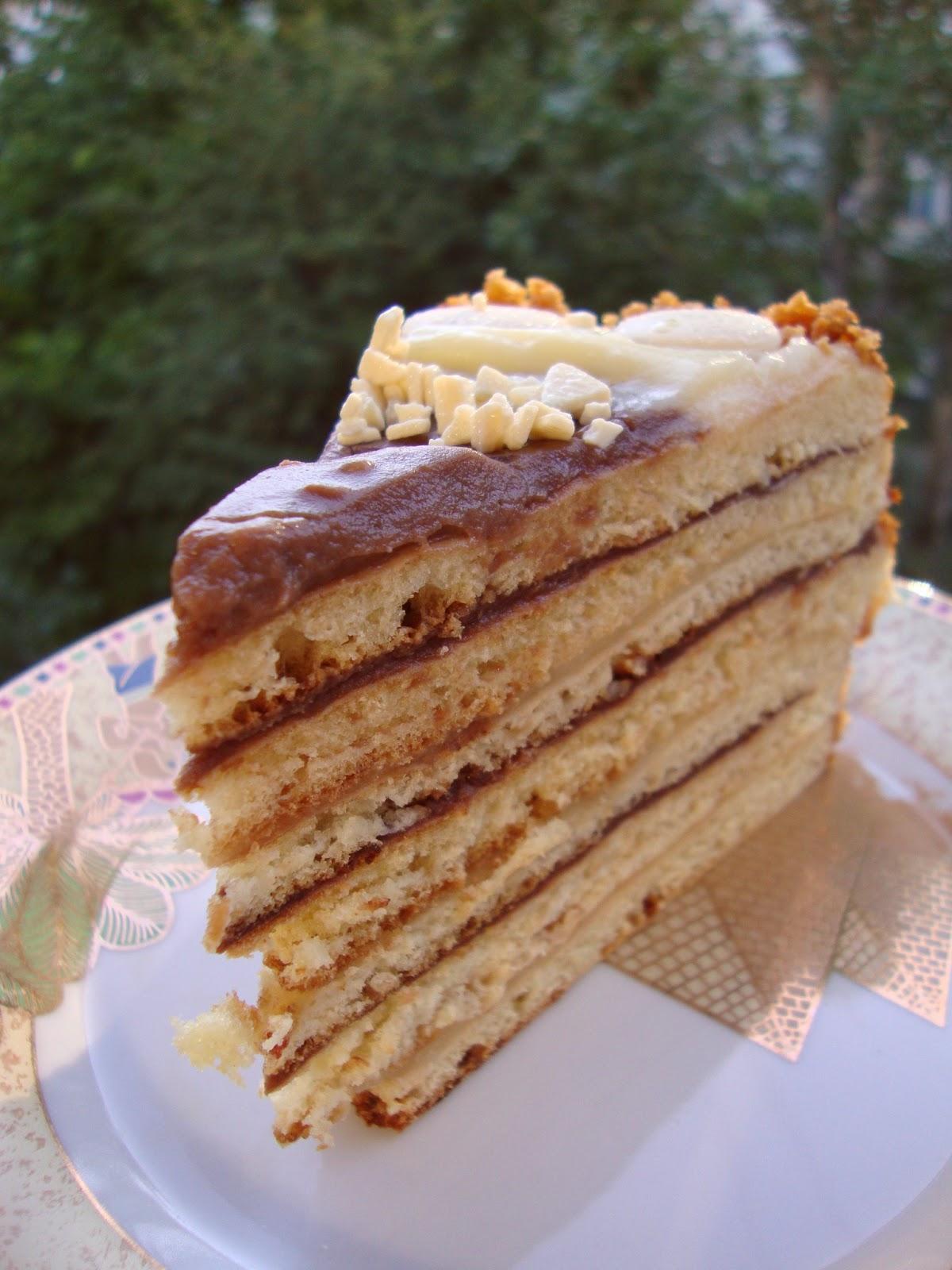 Рецепты тортов наполеон пошагово