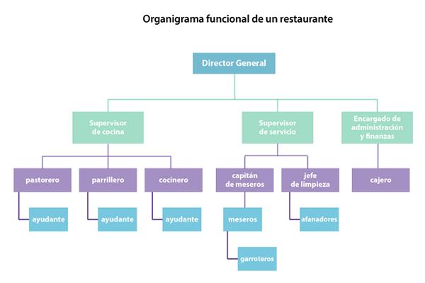 Perfil de jefe del area de mantenimiento en un restaurante for Areas de un restaurante