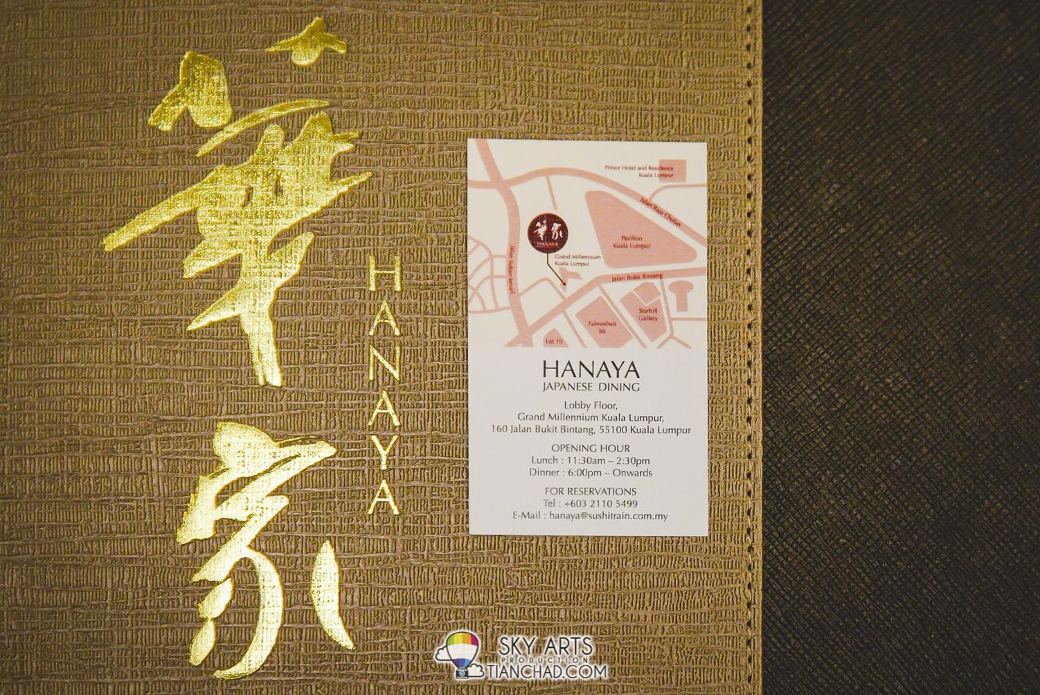 HANAYA 華家 Japanese Dining @ Grand Millenium Kuala Lumpur