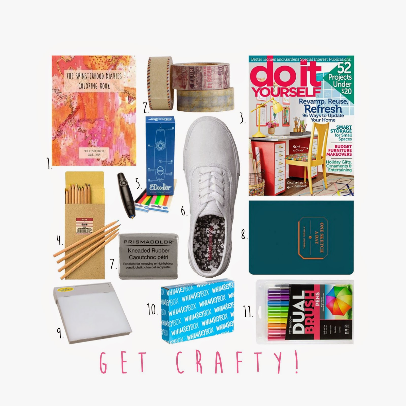 crafters-gift-guide, gift-ideas-for-crafters, craft-supplies, diy-gift-ideas