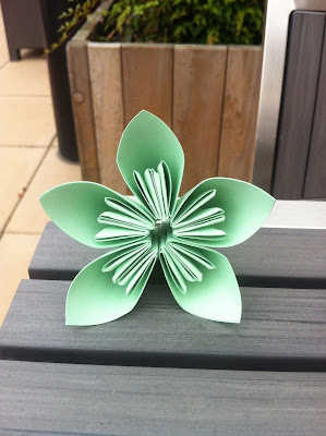 Tutorial flores de papel