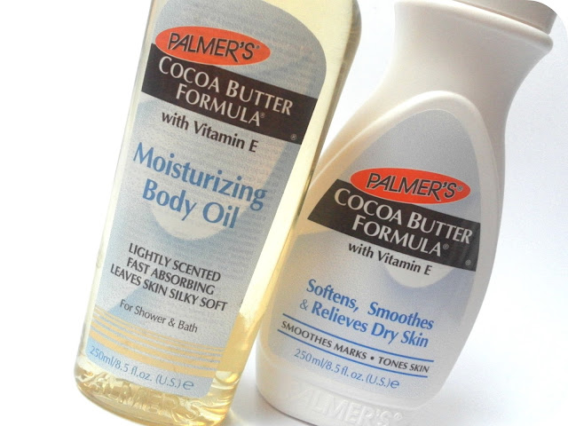 Palmer's Cocoa Butter Formula Moisturising Body Oil and Palmer's Cocoa Butter Formula