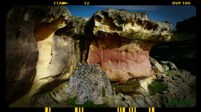 ente de roca en monte jaizkibel