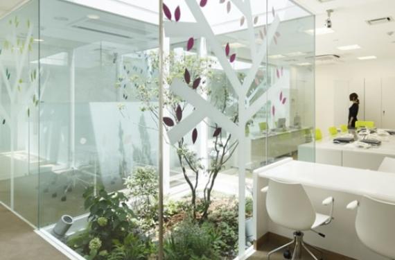Jardines japoneses de interior 1 en decoracion for Jardines exteriores para oficinas