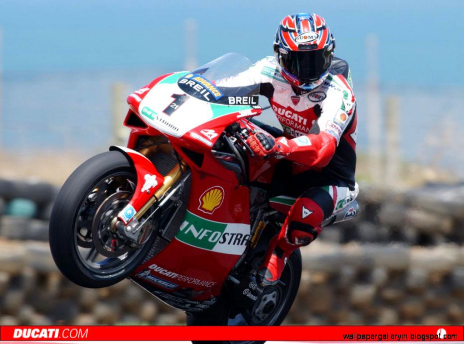 Superbike Ducati 998 Troy Bayliss Wallpaper Background  Free High