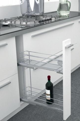 Accesorios interiores de muebles de cocina for Mueble botellero ikea