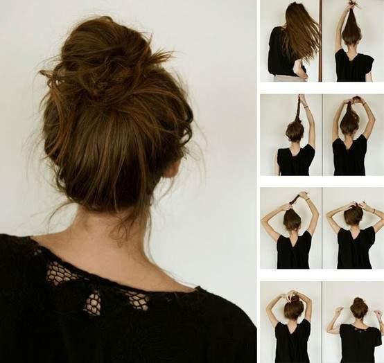 Как сделать красивые прически из волос