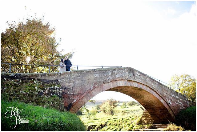 danby castle wedding, duck bride, danby castle, katie byram photography