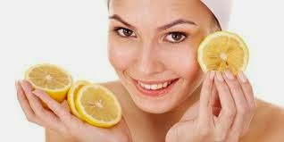 Cleanse your face with lemon juice