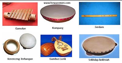 Alat musik tradisional Lampung : Gamolan, Kompang, Serdam, Sekhdap