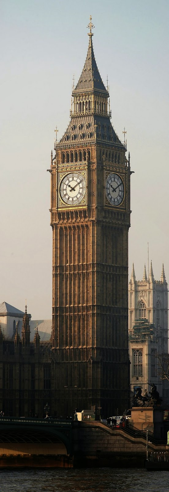 tall big ben london photo