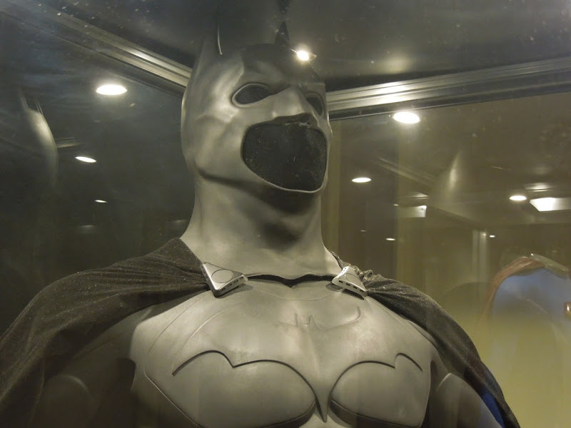 Batman Begins Batsuit cowl