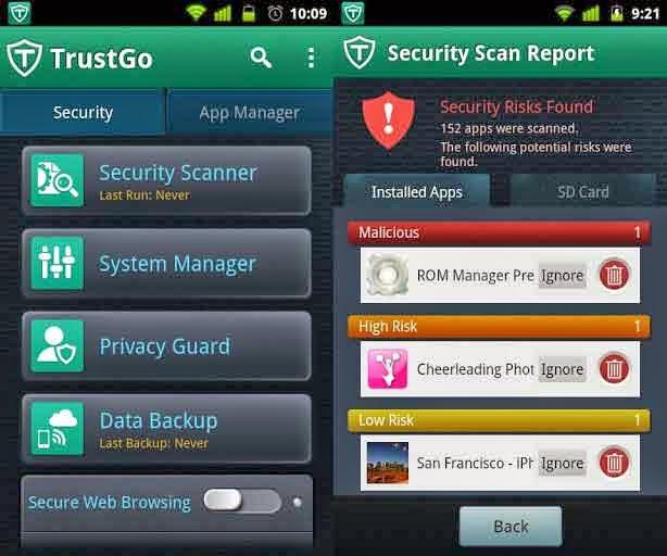 Trust Go Antivirus apk