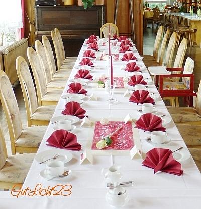Hochzeitsblog festlich eingedeckt for Hochzeitstafel deko