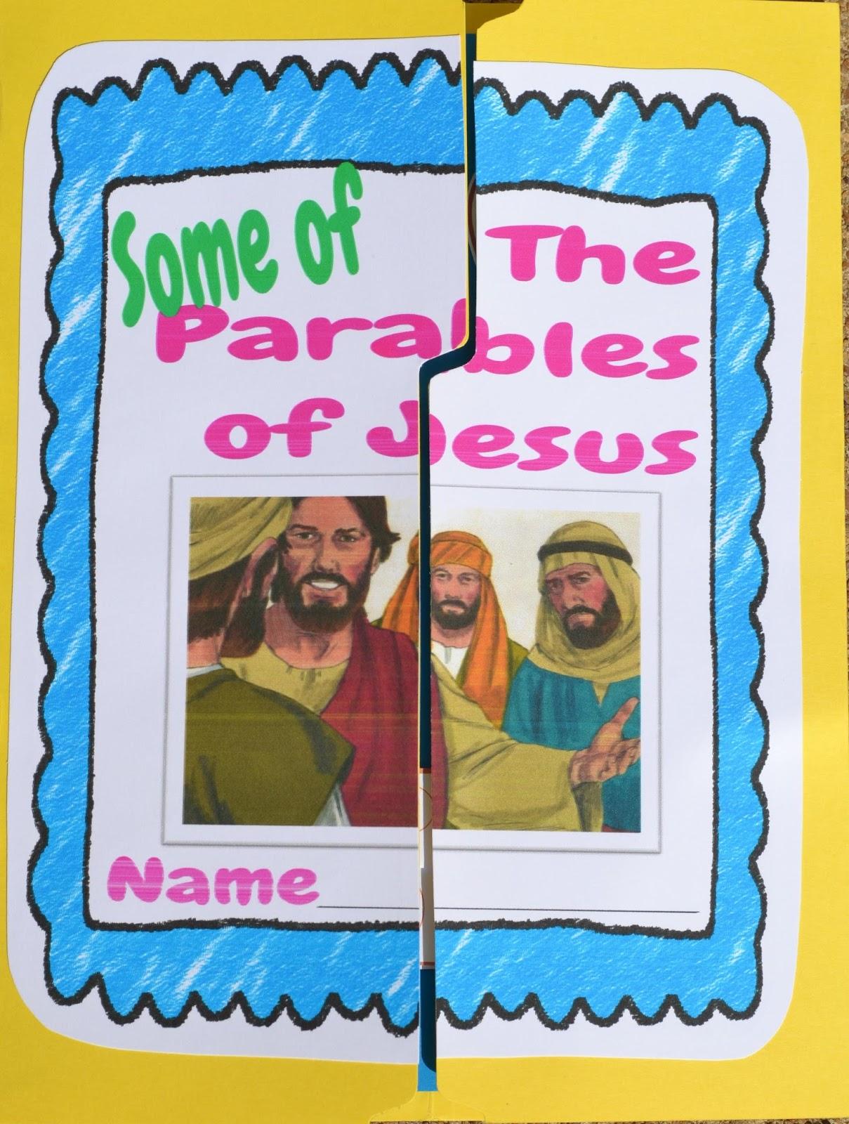 http://kidsbibledebjackson.blogspot.com/2014/09/parables-of-jesus-lapbook.html