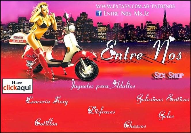 """ESPACIO PUBLICITARIO: SEX SHOP """"ENTRE NOS"""" - 6 AÑOS"""