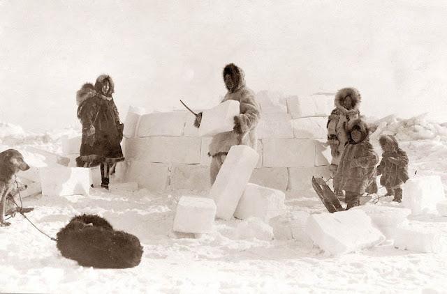 hace frio en un iglú, domo, antartico, inuit, aborígenes, como hacer un iglú