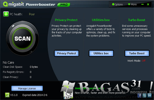 Amigabit PowerBooster 3.1.0 Full Crack 2