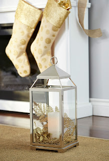Christmas lantern with pillar candle | CANVAS Christmas Collection | RamblingRenovators.ca