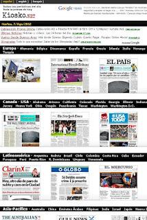 kiosko frontpage daily diarios tapas
