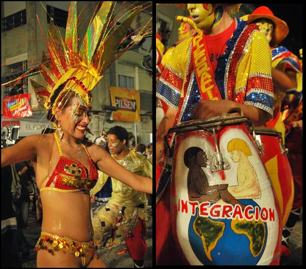 Desfile de Llamadas.Integración.. Montevideo. 2011.