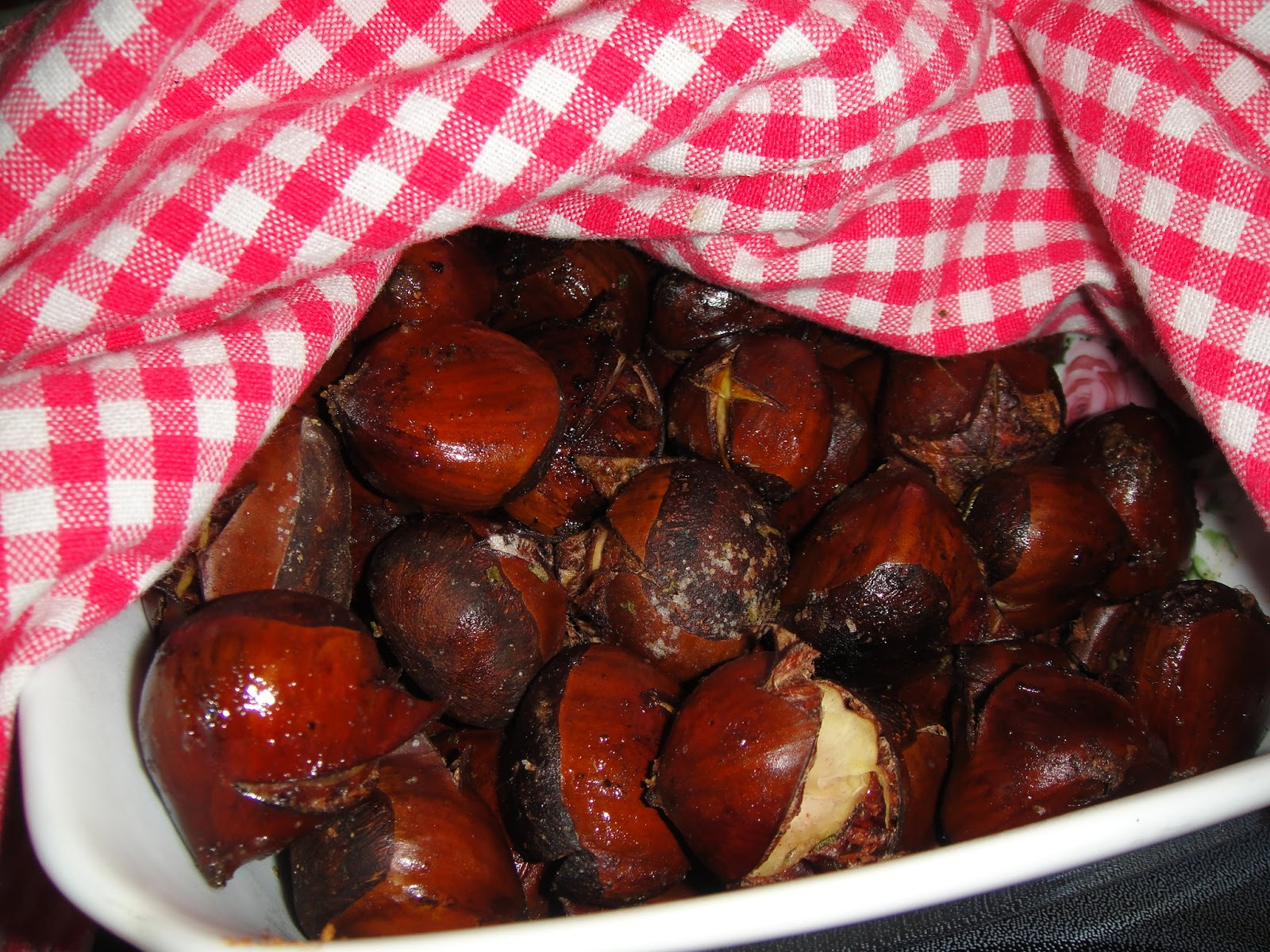 ... roasted chestnuts can we without roasted chestnuts it would be like