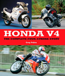 Honda V4 book - signed by author