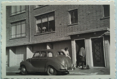 Austin A40 Mimosastraat Den Haag