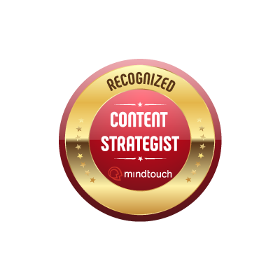 2016 - Top 200 Recognized Content Strategists