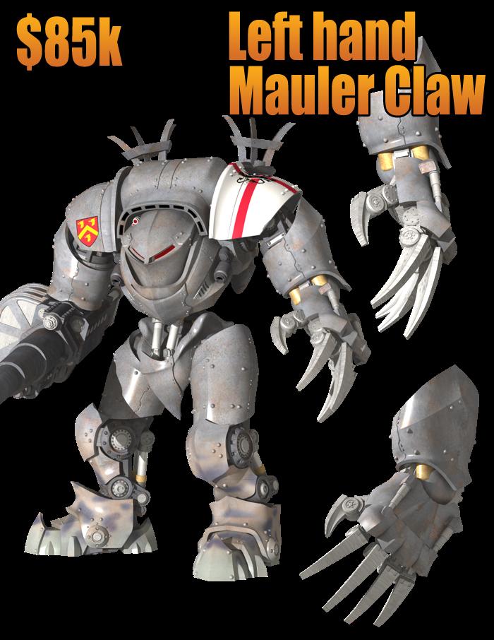 DreamForge-Games : proxy Titan / Chevalier Mauler+Claw+left+85k