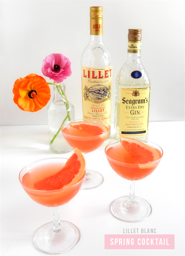 Lillet Blanc Spring Cocktail | SAS+ROSE