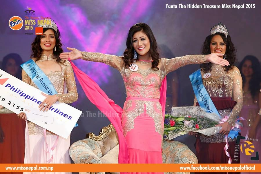Miss Nepal world 2015 evana manandhar